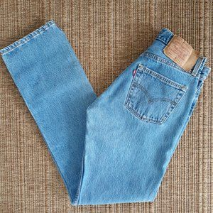 LEVI'S y2k Vintage 501 Button Fly Straight Jeans